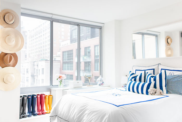 Chelsea NYC Studio Apartment Tour by popular New York blogger Covering the Bases