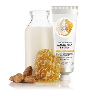The Body Shop Almond Milk and Honey Calming & Protecting Hand Cream 30ml_Price - Rs. 395