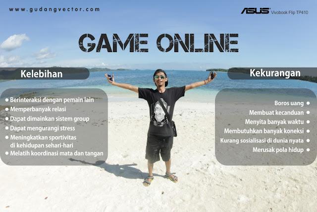 Kelebihan dan kekurangan Game Online
