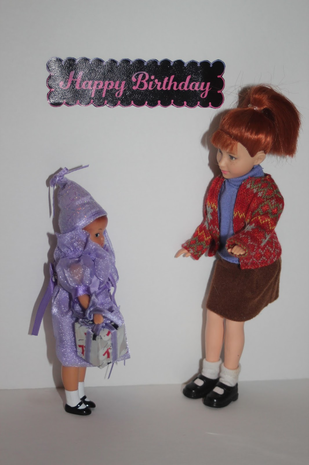 PLANET OF THE DOLLS: Doll-A-Day 2017 #69: Wee Wishes Happy Birthday ...
