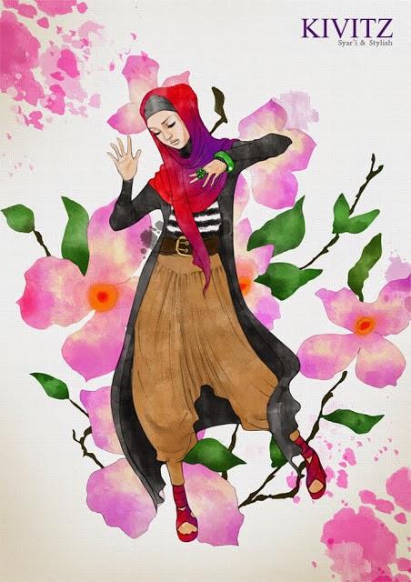 KIVITZ by Fitri Aulia: Inspirasi Gaya Muslimah