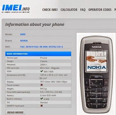 Samsung IMEI