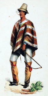 man in poncho