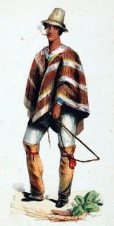 man in poncho