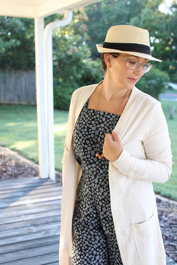 DIY Linen Jumpsuit // Sewing For Women