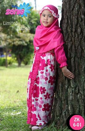 Gambar Baju Muslim Anak