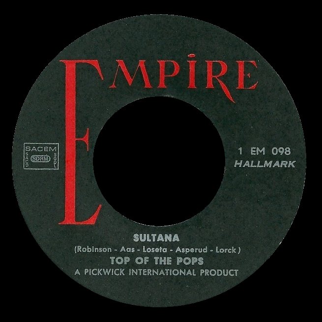 Copycat Cover Records: Top of the Pops - another 45 from Lebanon