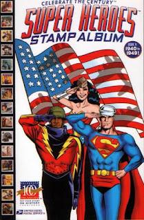 Super Heroes Stamp Album