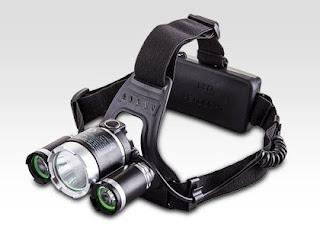 Latarka czołowa Reflektor czołowy LED z Biedronki