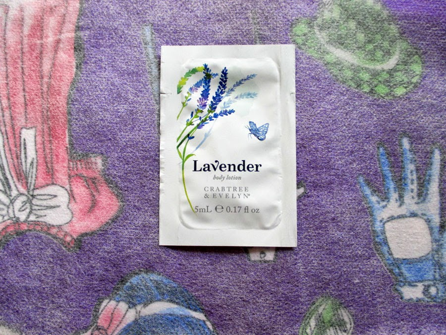 Crabtee and Evelyn Body Lotion Sample