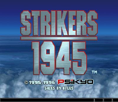 【SS】打擊者1945(STRIKERS 1945),彩京經典二戰飛機射擊遊戲!