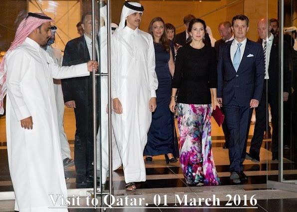 Prince Frederik and Princess Mary visit to Qatar