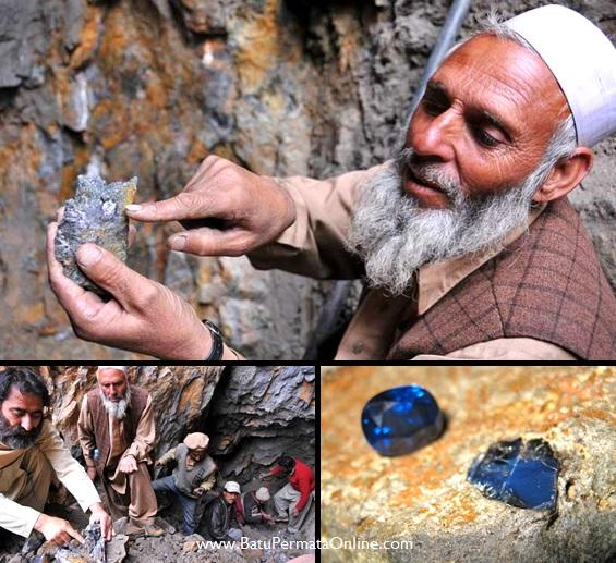 Tambang Batu Safir Khasmir