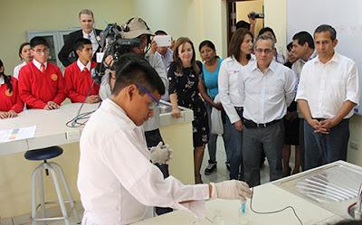 Mil seiscientos estudiantes de los COAR inician clases con programa de Bachillerato Internacional según MINEDU