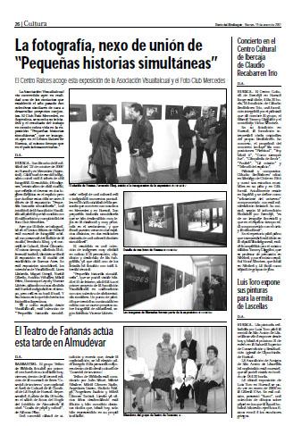 El Teatro de Fañanás actúa esta tarde en Almudévar