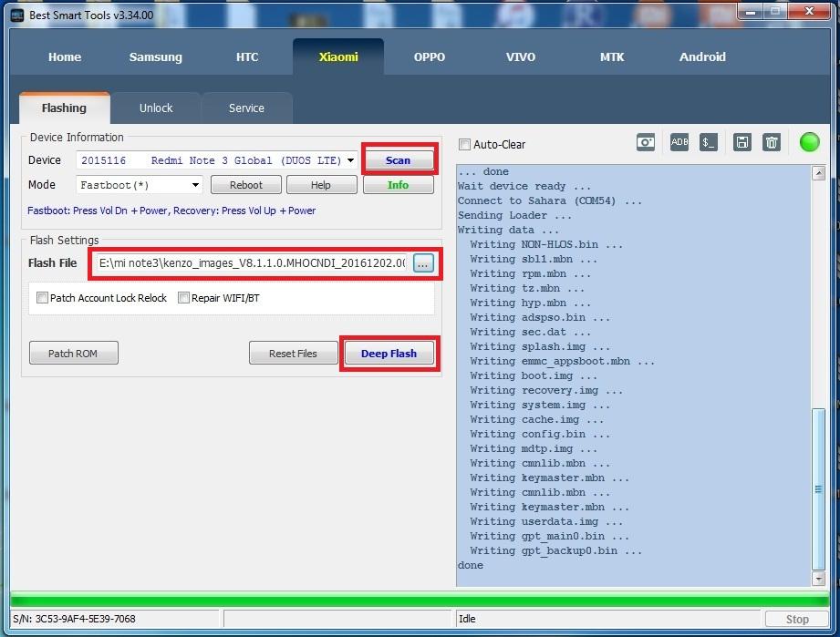 Mi Note 3 Flash File New — TTCT