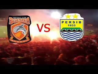 Borneo FC vs Persib Bandung Kembali Ditunda
