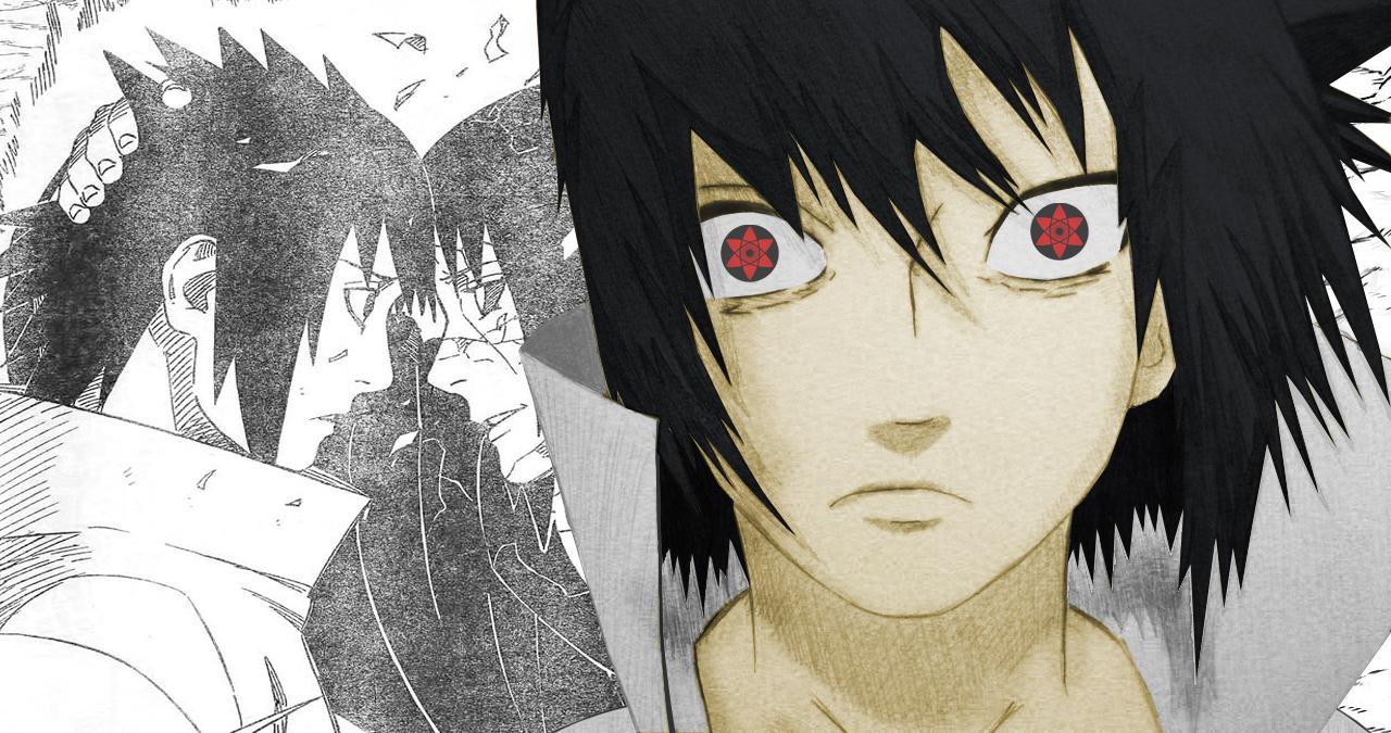 Nathan Rainieri Desenho Sasuke Uchiha