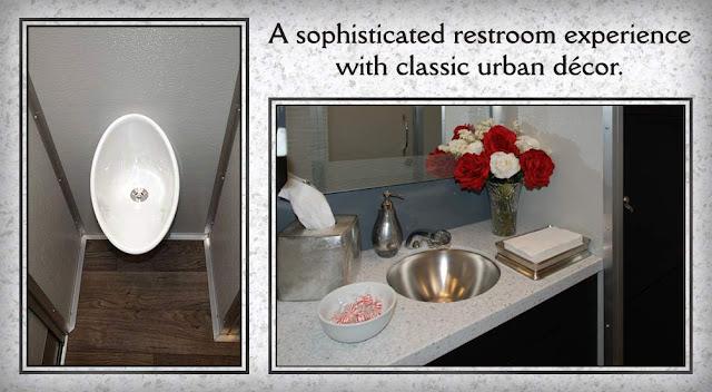 SOHO Restroom Trailer For Rent