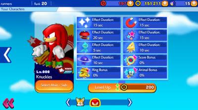 Screenshot: Sonic Runners Apk