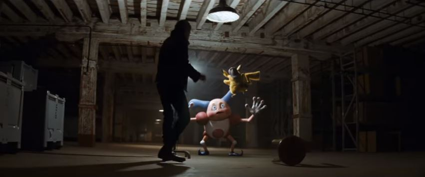 POKÉMON Detective Pikachu 2019 Movie Hilarious Mr. Mime interrogation scene from 2019 Pokemon live action Hollywood film