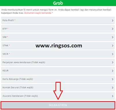 cara daftar grabcar secara online