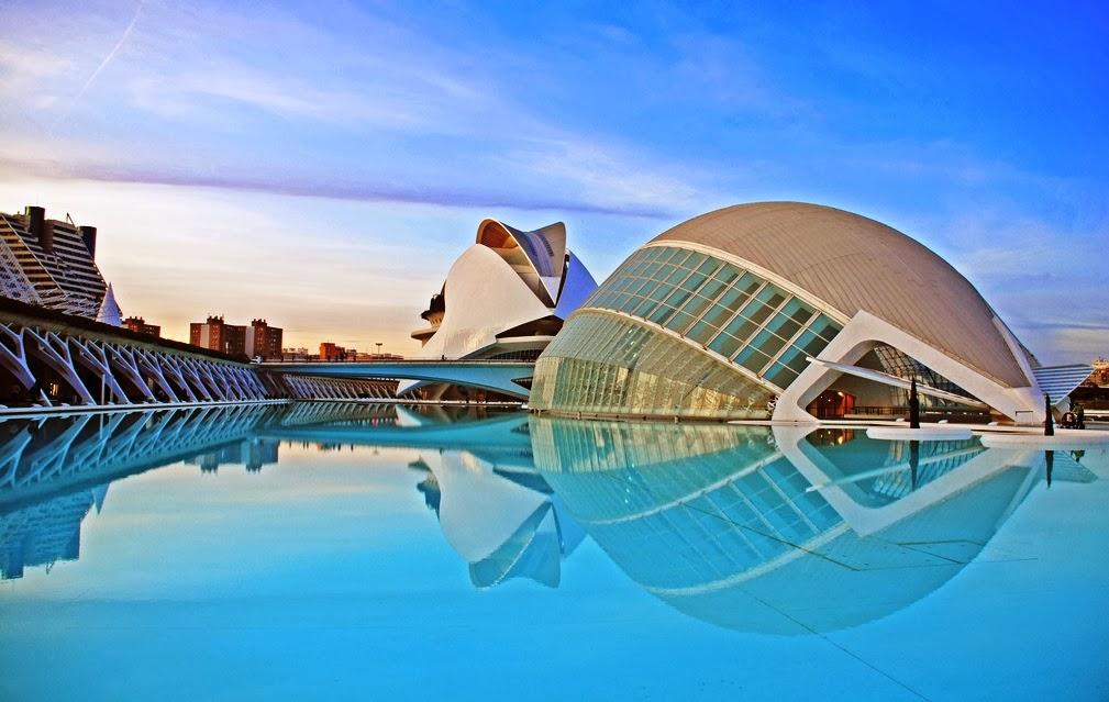 Cidade das Artes e das Ciências em Valência
