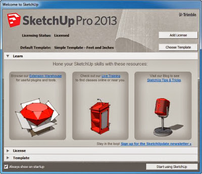 SketchUp Pro 13.0 Full Version with Crack Keygen free download