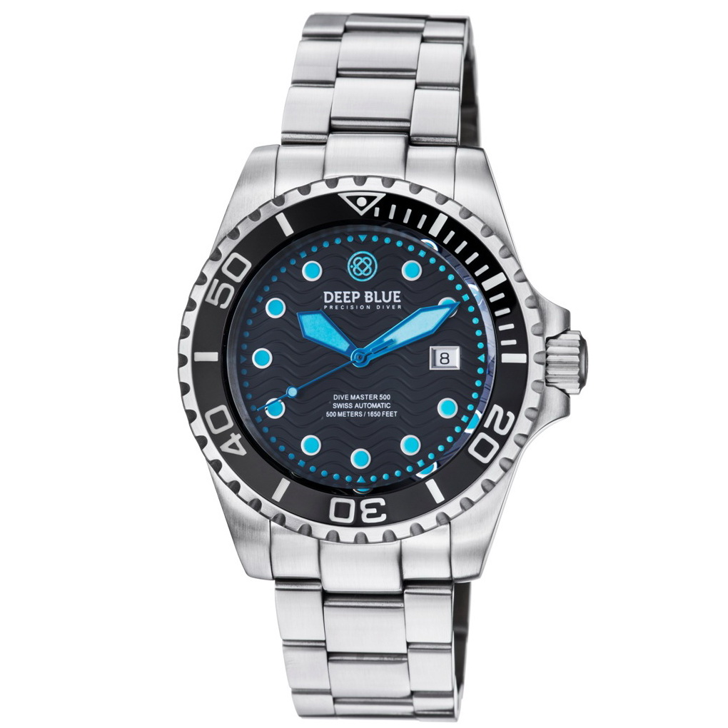 Deep blue watches master 500 swiss auto diver - Dive deep blue ...