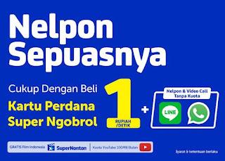 Paket Murah XL Super Ngobrol Gratis Nelpon Dan SMS Terbaru 2018