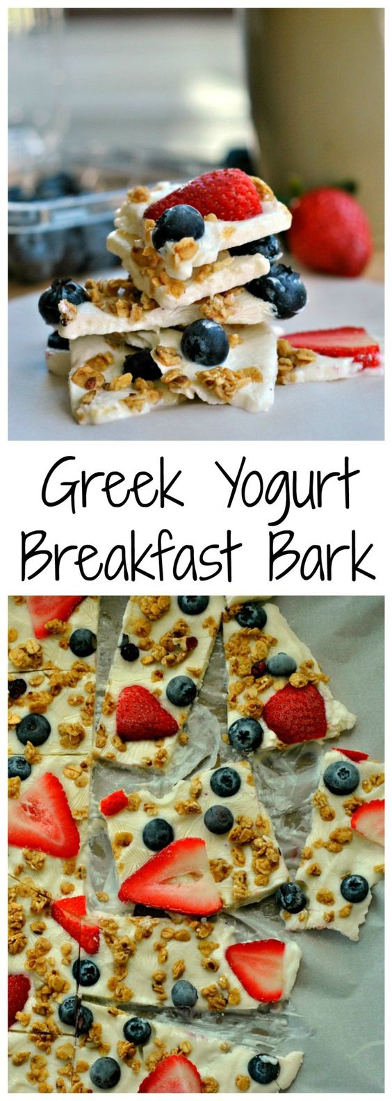 GREEK YOGURT BREAKFAST BARK