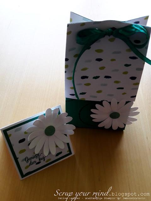 Tütenbrett-Set-Gänseblümchen