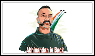 Finally Wing Commander abhinandan in India!