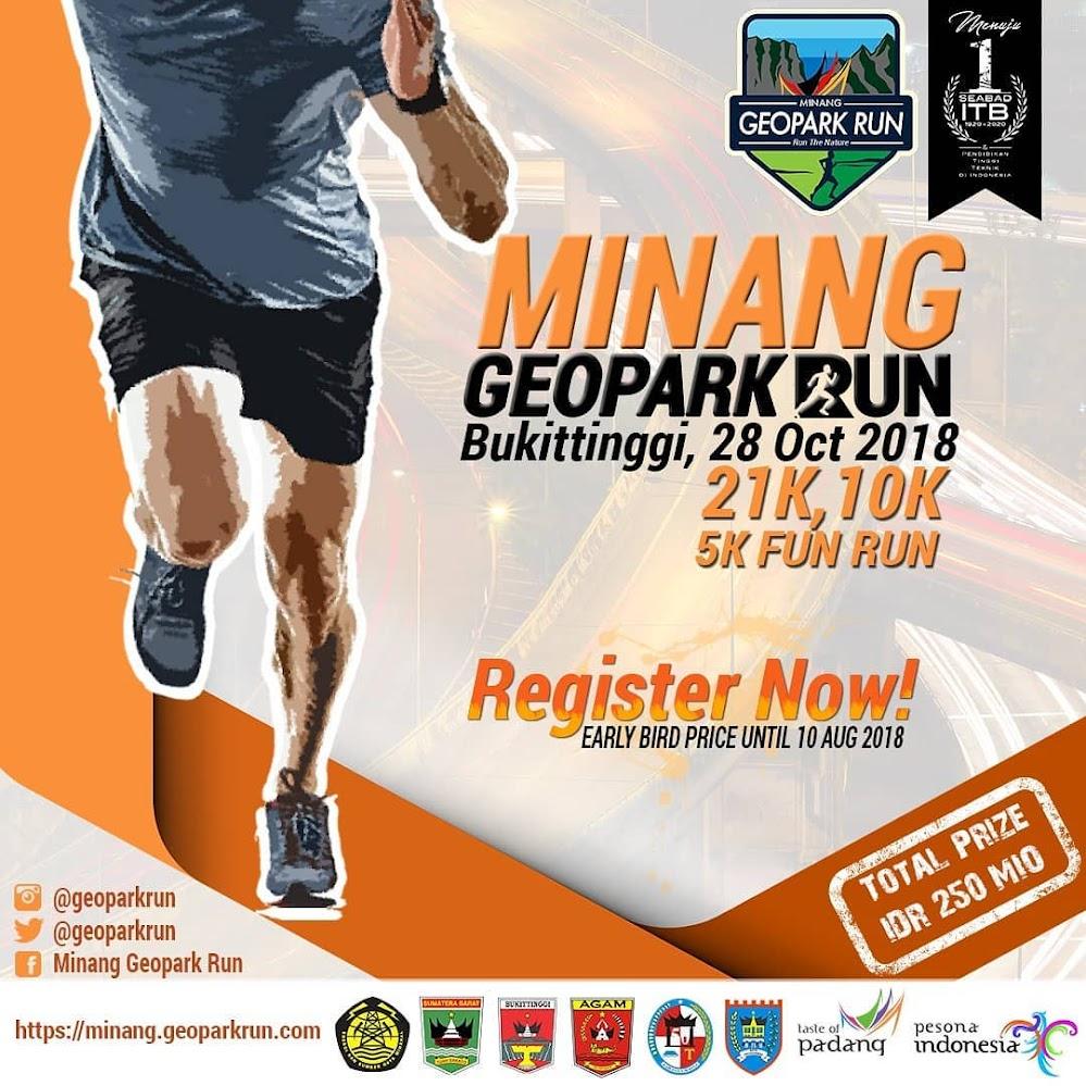 Minang Geopark Run • 2018