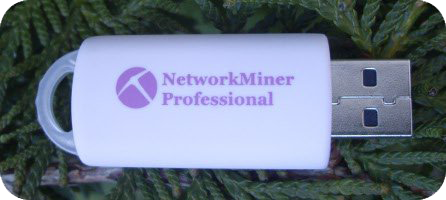 NetworkMiner Professional USB Picture