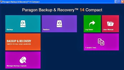 Paragon Backup Recovery 14 Serial Key