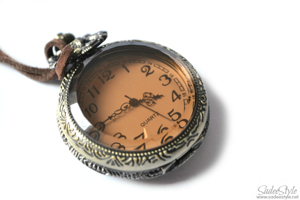 Pocket Watch Antique Glass ball Mechanical Pocket Watch Necklace Pendant