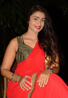 Kiran Chetavani Hot Stills in Saree 5.jpg