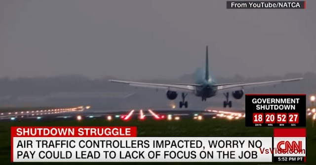CNN vs. Air Traffic Controller vs. Border Security Isn't Going To Pay My Mortgage