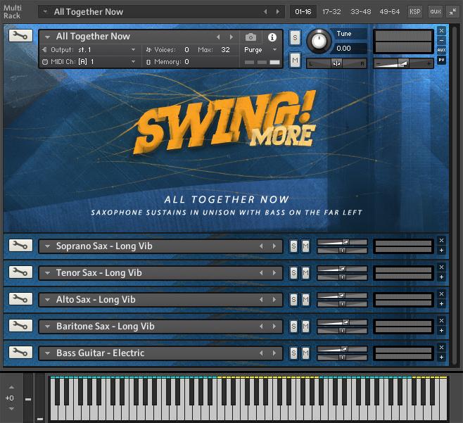 ProjectSAM - Swing More! KONTAKT Library