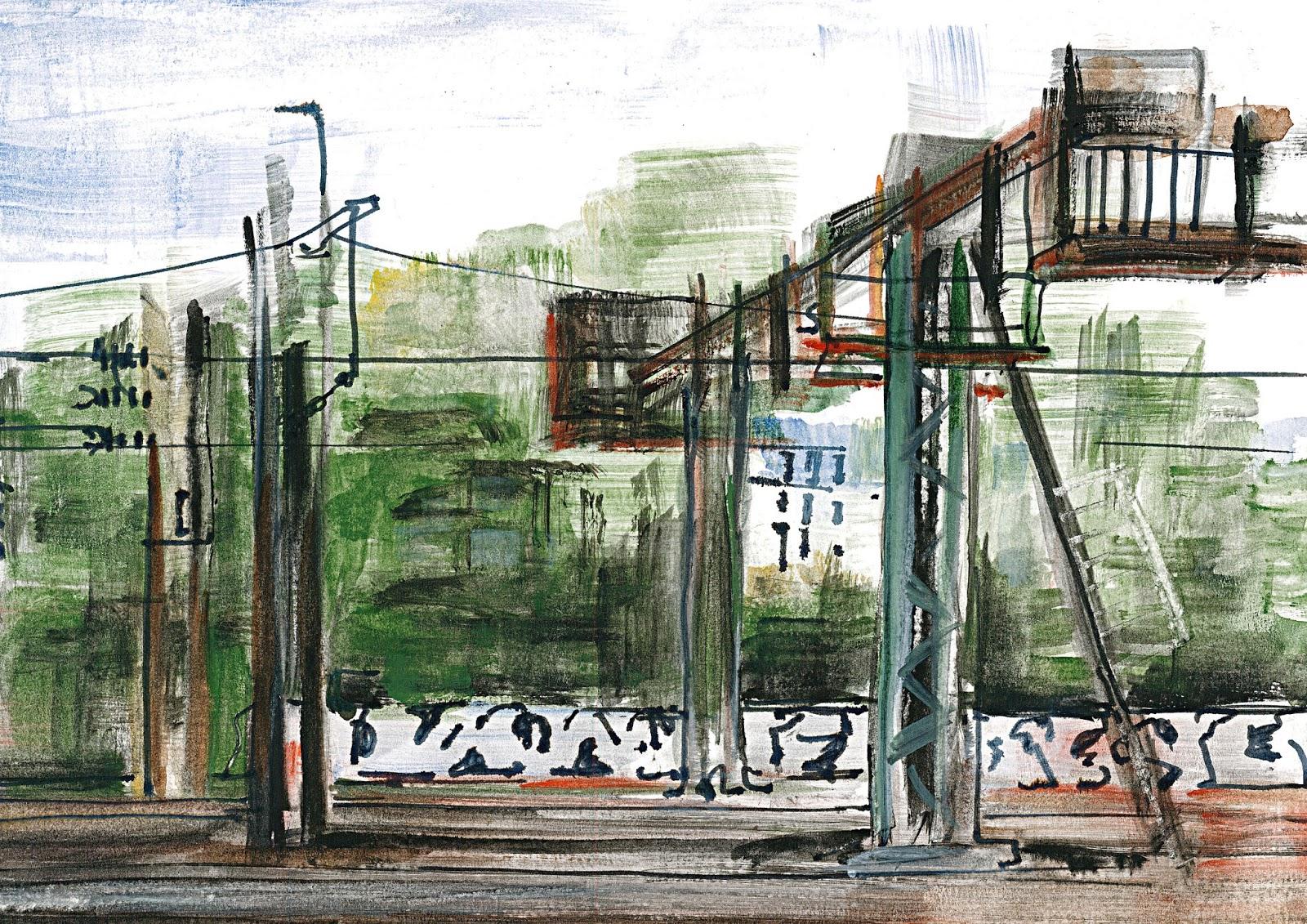 urban sketchers paris le noir est une couleur. Black Bedroom Furniture Sets. Home Design Ideas