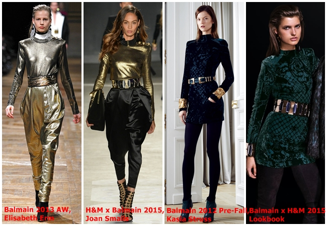 Balmain x H&M 2015 Fall Collection