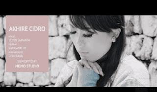 Lirik Lagu Akhire Cidro (Dan Artinya) - Saraswati