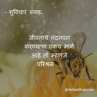 good thoughts in Marathi about luck