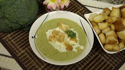 Zupa krem z brokuła