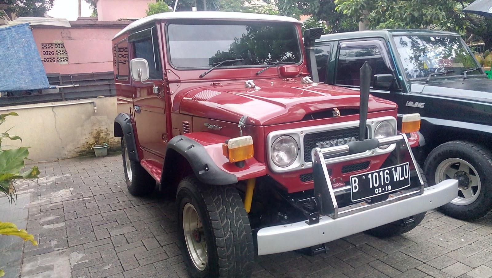 Dijual Land Cruiser Toyota Lawas Tahun 80Tangan Pertama LAPAK