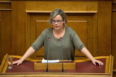 Ερωτήσεις βουλευτών του ΣΥΡΙΖΑ μεταξύ των οποίων και η βουλεύτρια Πιερίας Ε. Σκούφα.
