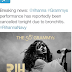 Rihanna cancels Grammy performance