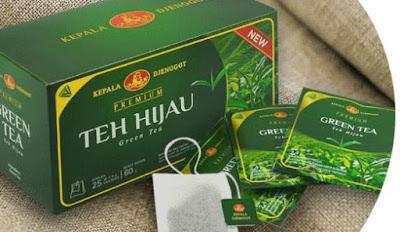 efek samping teh hijau kepala jenggot