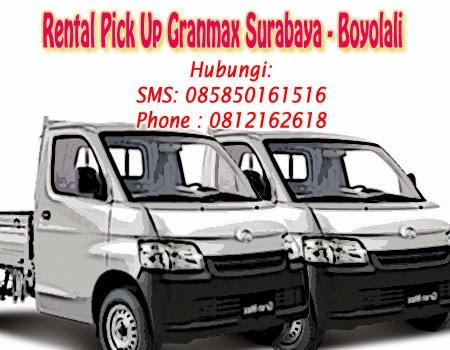 Rental Pick Up Granmax Surabaya-Boyolali